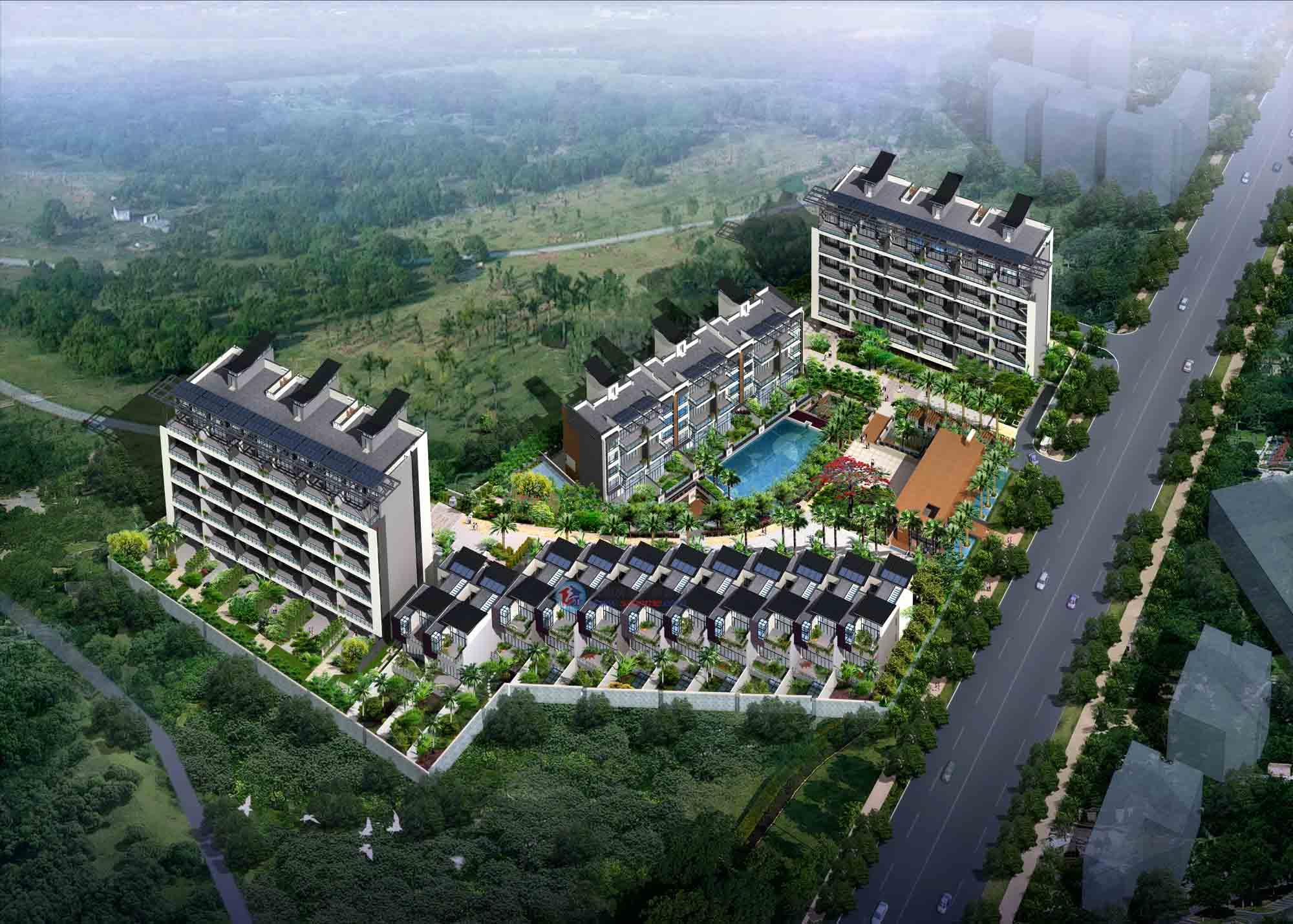 中国深圳 — 德尚世家花园