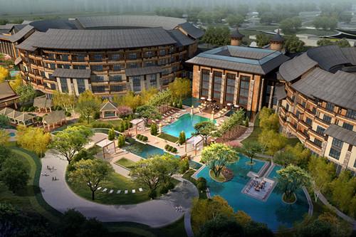 中国--盘锦二界沟围屋温泉度假酒店
